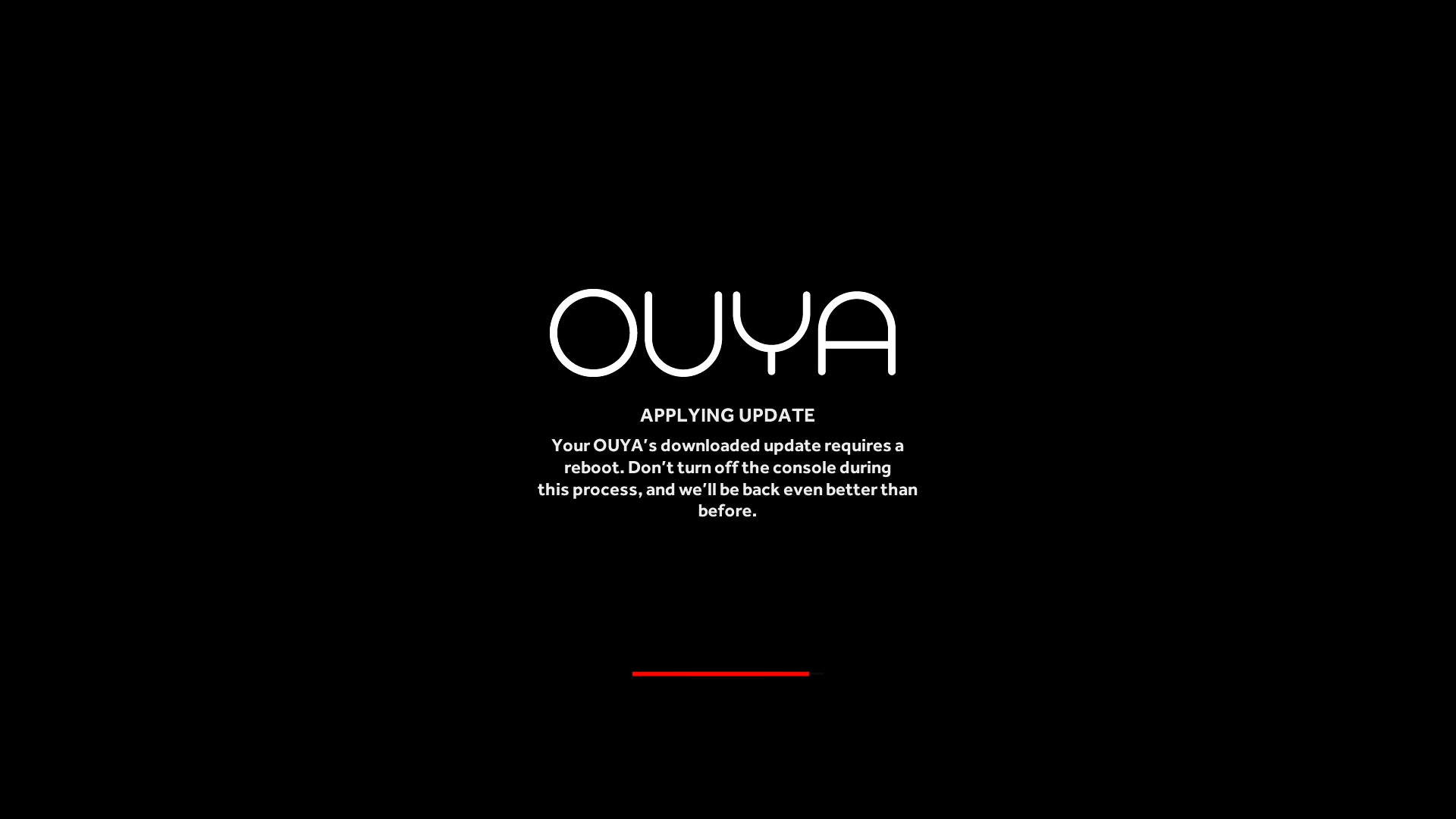 OUYA Update firmware
