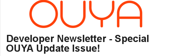 OUYA Developer News
